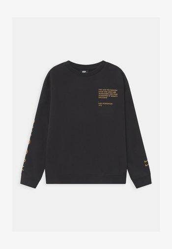 CREW  - Collegepaita - black/gold