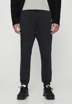 MIT STRETCHBUND  - Zúžené džíny - mottled dark grey