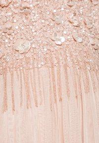 Lace & Beads - RIRI MIDI - Společenské šaty - nude - 5