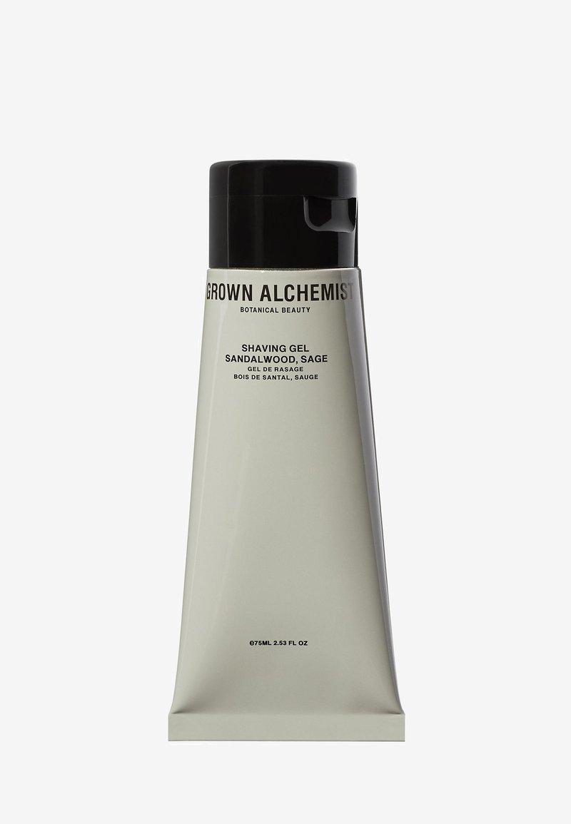 Grown Alchemist - SHAVING GEL SANDALWOOD & SAGE  - Shaving gel - -