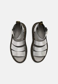 Dr. Martens - CLARISSA LI - Platform sandals - silver - 4