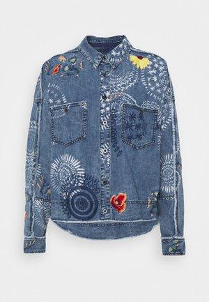 MARRAKESH - Button-down blouse - indigo
