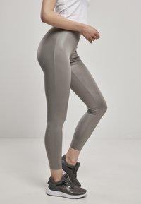 Urban Classics - Leggings - Trousers - asphalt - 3