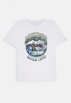 LOST ALIBI YOUTH - T-shirt print - white