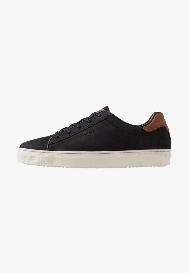 GINOTTO - Sneakers basse - navy/cognac