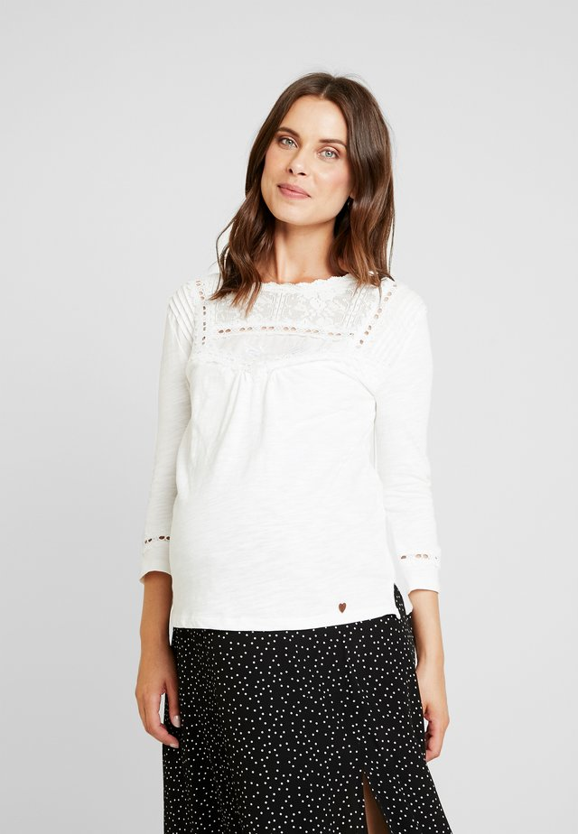 NURSING WITH - Long sleeved top - white