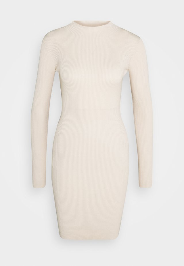 Jumper dress - sand