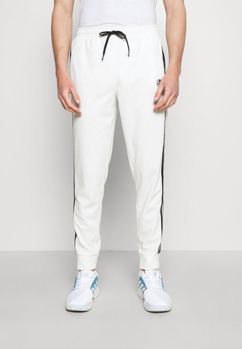Sergio Tacchini - TRACK PANTS YOUNGLINE - Teplákové kalhoty - blanc de blanc/night sky
