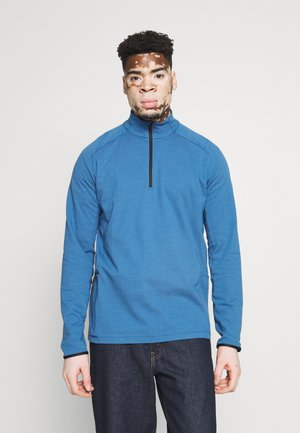 TRAIN HALF ZIP - Long sleeved top - sailor blue