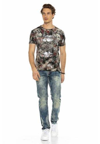 Straight leg jeans - blauw