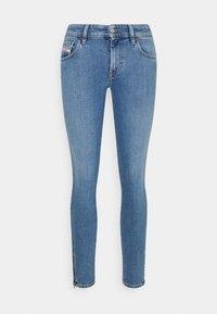 Diesel - SLANDY-LOW-ZIP - Jeans Skinny Fit - light blue - 0