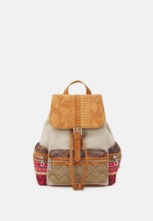 BACK TRIPATCH TRIBECA MEDIUM - Reppu - camel oscuro