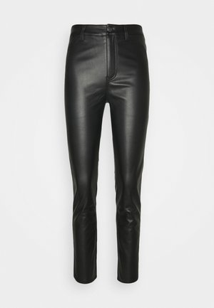 REBEL AT HEART  - Trousers - black