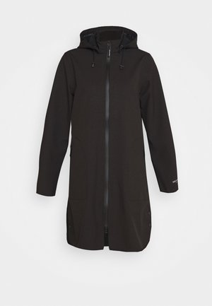 FUNCTIONAL RAINCOAT - Parka - black