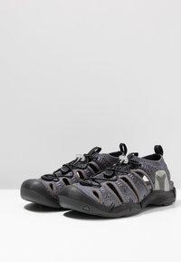 Keen - EVOFIT ONE - Chodecké sandály - heathered black/magnet - 2