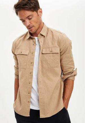 Overhemd - beige