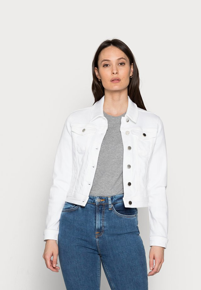 DENIM JACKET - Denim jacket - denim white
