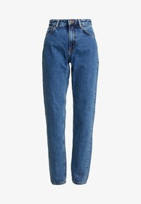Nudie Jeans - BREEZY BRITT - Jean droit - friendly blue - 4