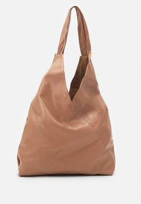 Pieces - PCFORIANNE SHOPPER  - Shopping bag - beige