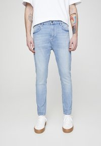 PULL&BEAR - Slim fit jeans - light blue - 0