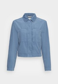 Marc O'Polo - INDOOR JACKET CROPPED STYLE  CHEST POCKETS - Summer jacket - fall sky - 0