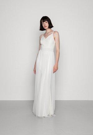 POPPY TULLE DRESS - Abito da sera - white
