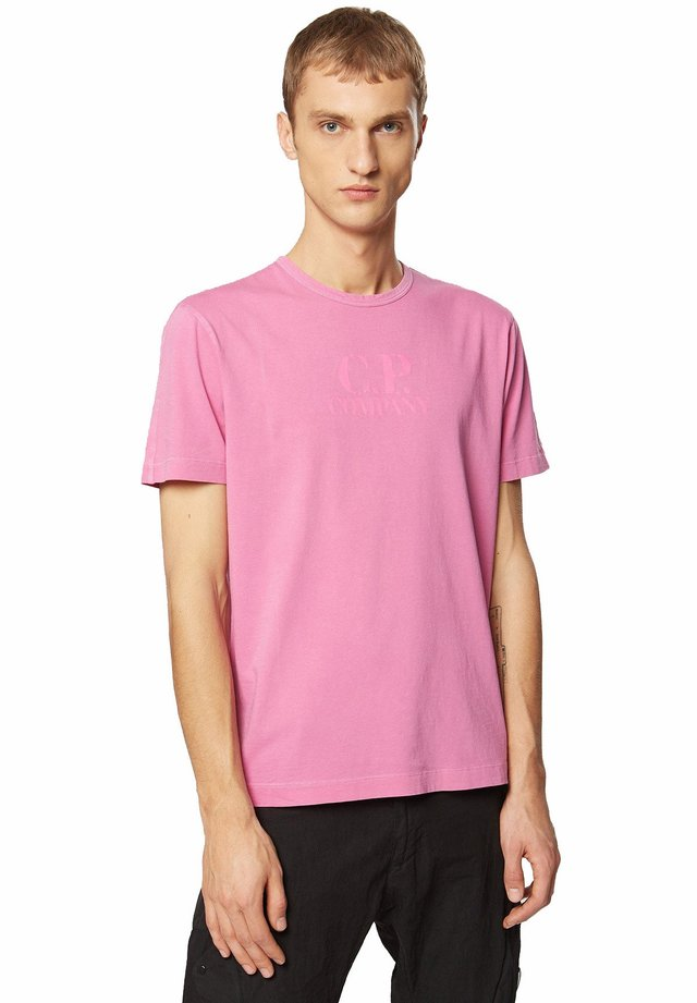 T-shirt con stampa - burned