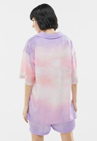 Bershka - Button-down blouse - mauve - 2
