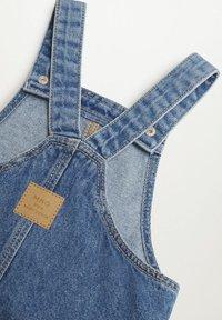 Mango - Denim dress - bleu moyen - 3