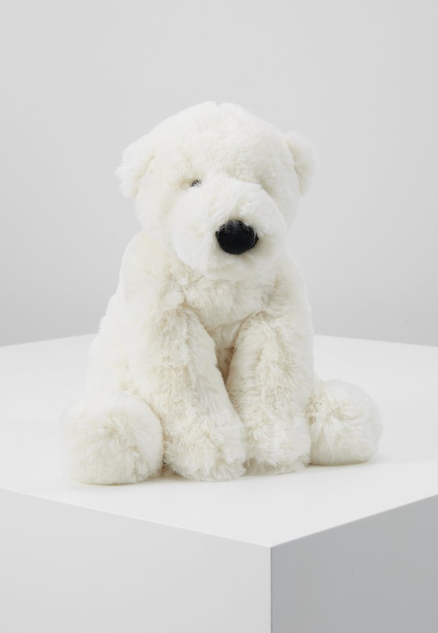 PERRY POLAR BEAR - Cuddly toy - white