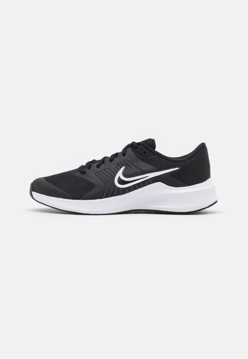 DOWNSHIFTER 11 UNISEX - Neutral running shoes - black/white