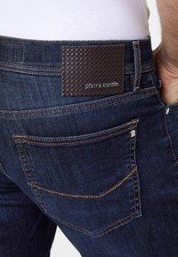 Pierre Cardin - VOYAGE LYON - Slim fit jeans - dark blue - 4