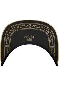 Cayler & Sons - Cap - black/gold - 3