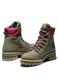 Timberland - COURMAYEUR F/L HIKER WP - Lace-up boots - olive nubuck - 2