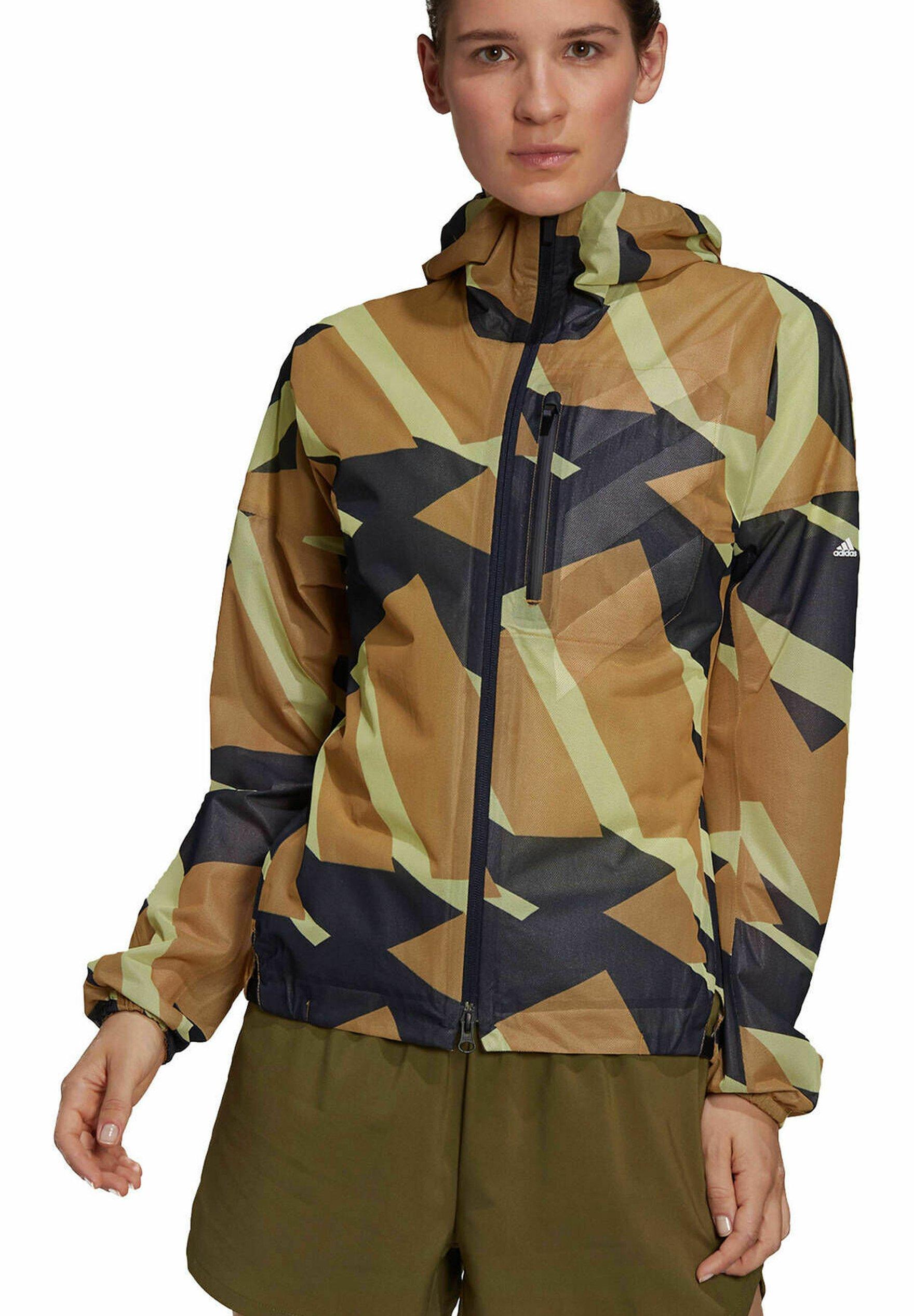 Damer Regnjakke / vandafvisende jakker - braun