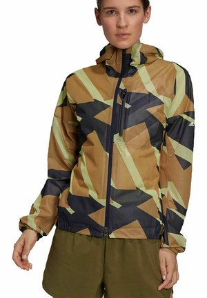 Waterproof jacket - braun