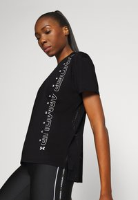 Under Armour - SPORT GRAPHIC - Print T-shirt - black - 0