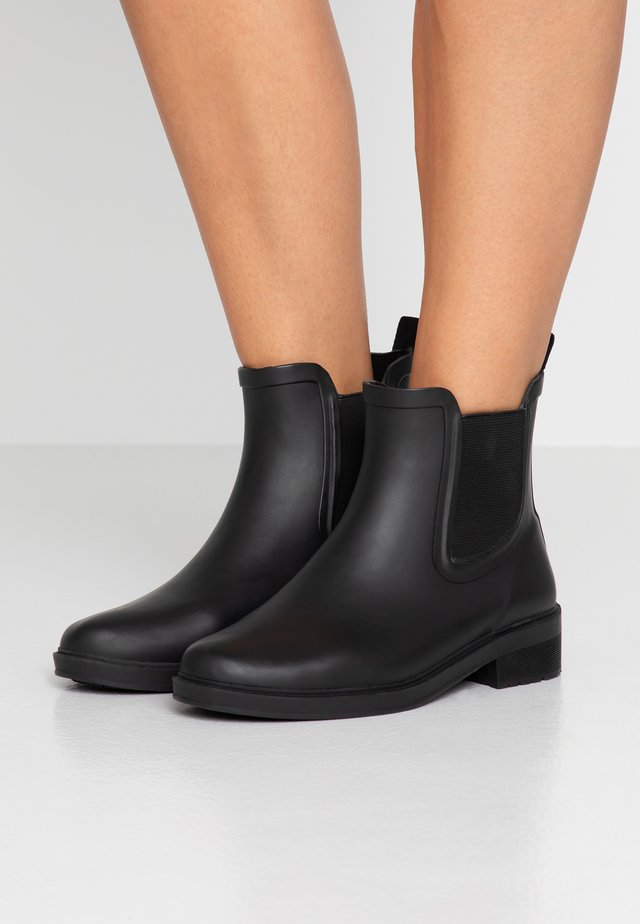 LOW CHELSEA RAINBOOT - Regenlaarzen - black