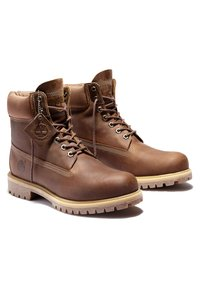 Timberland - Lace-up boots - rust full grain - 2