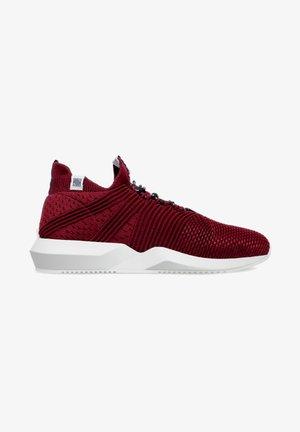 Sneakers laag - burgundy