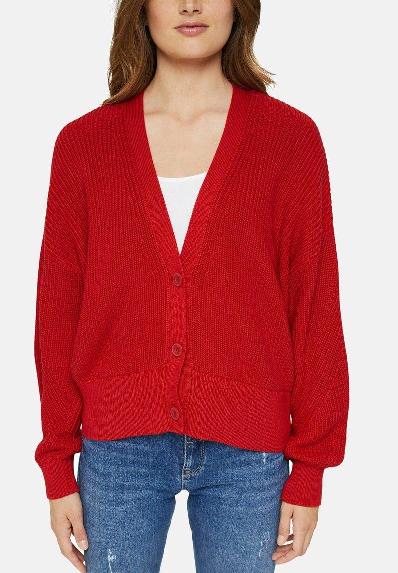 Esprit - Cardigan - red