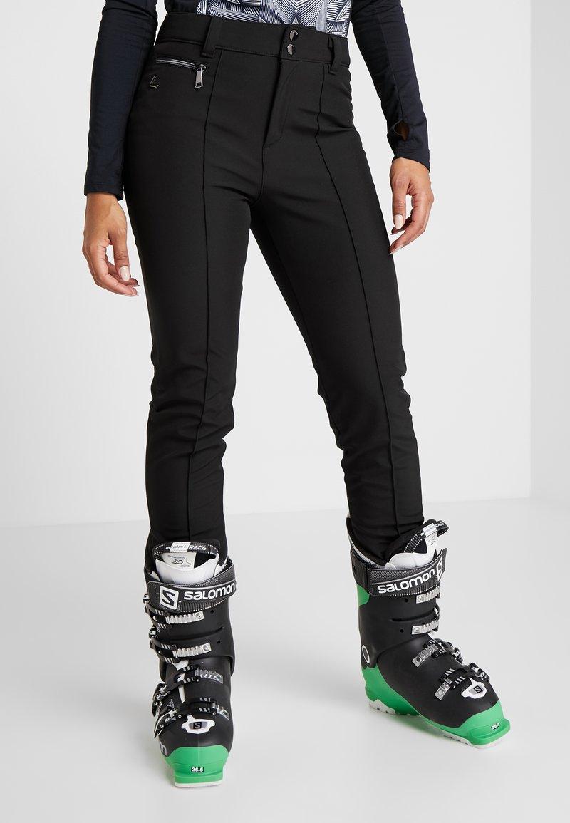 Luhta - JOENTAKA - Ski- & snowboardbukser - black