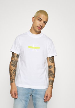 CENSORED TEE - Print T-shirt - bright white