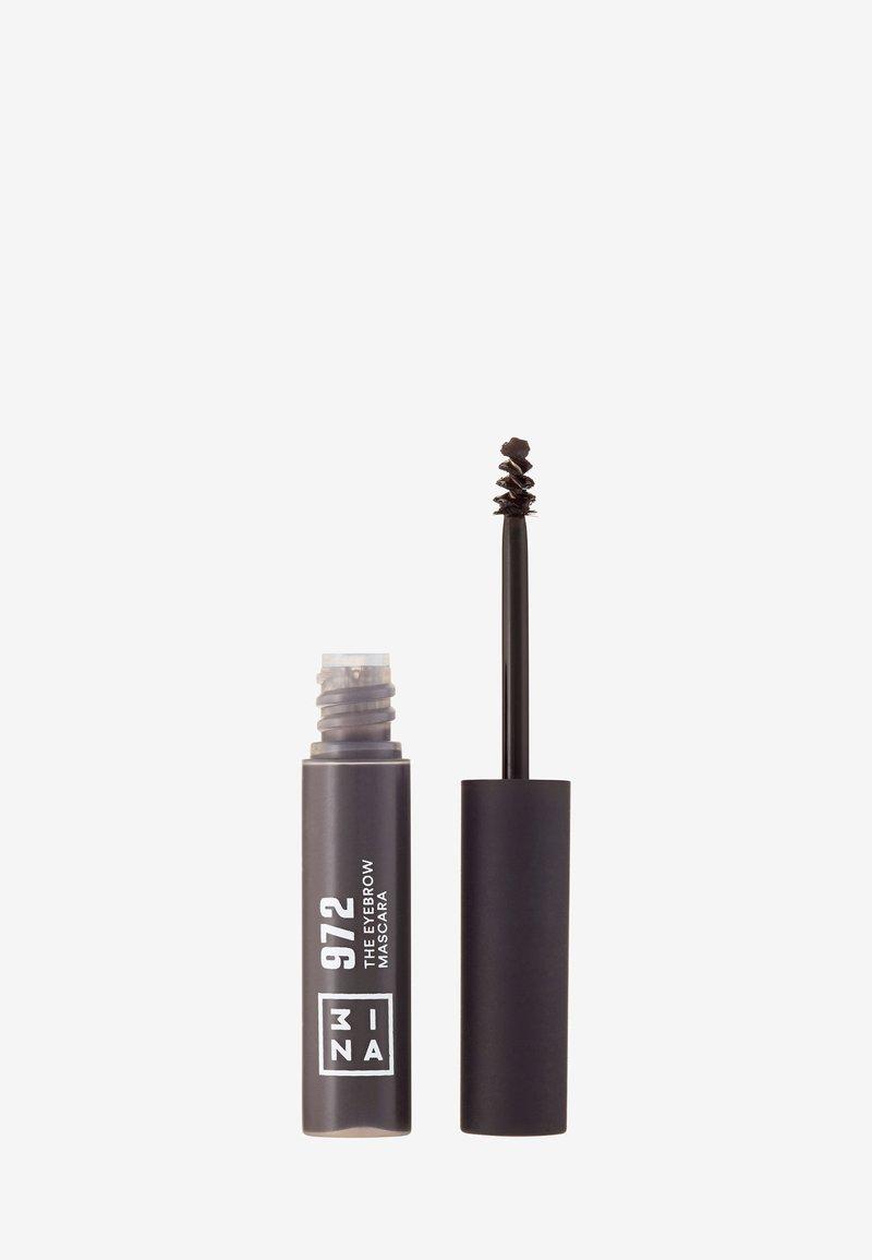 3ina - THE EYEBROW MASCARA - Eyebrow gel - 972 gray