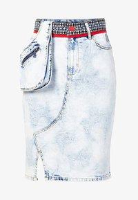 Desigual - RAQUEL - Wrap skirt - blue - 4