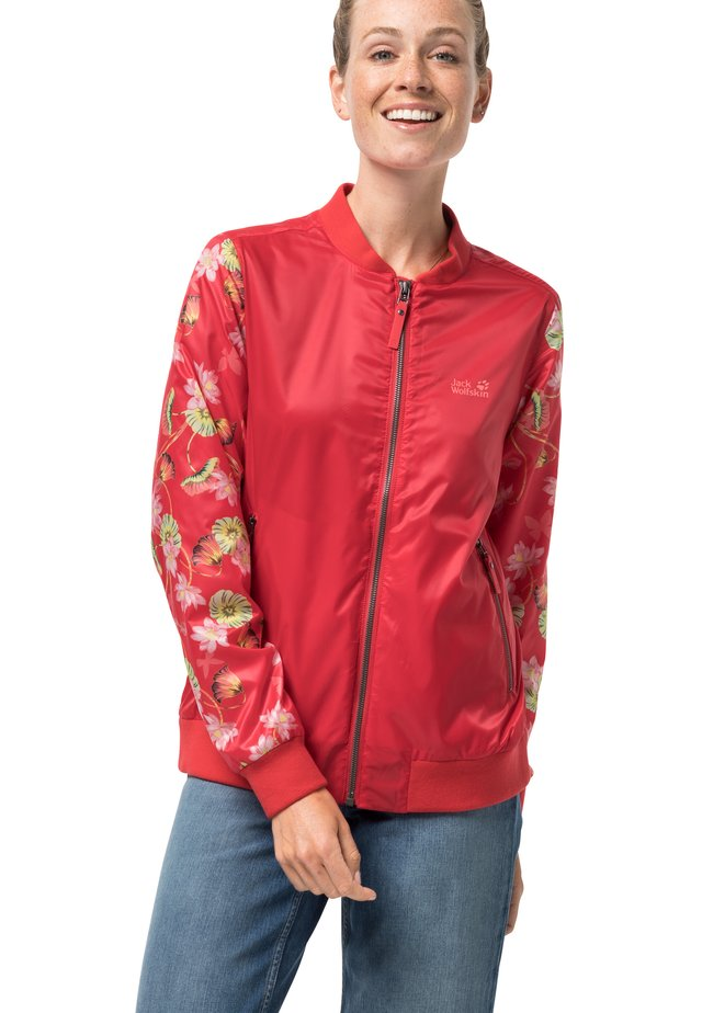 PARADISE - Outdoor jacket - tulip red all over