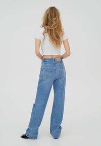 PULL&BEAR - Jeans Straight Leg - stone blue denim - 2