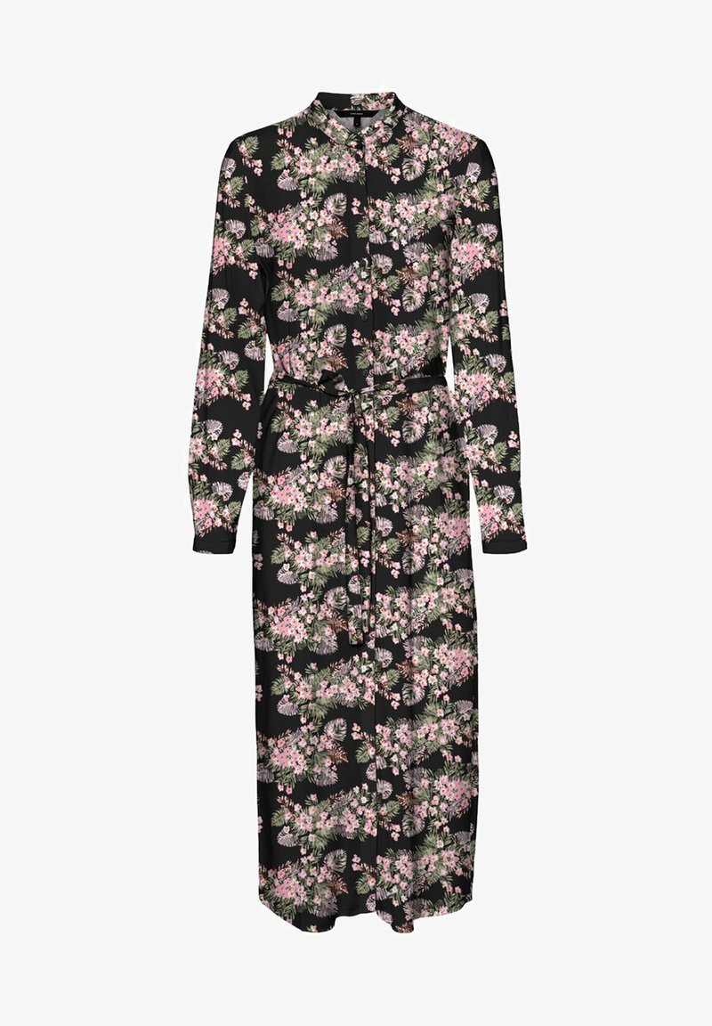 Vero Moda - VMSIMPLY EASY LONG DRESS - Shirt dress - black 3