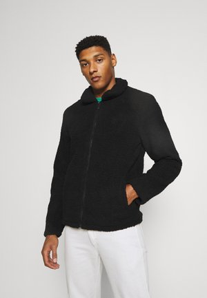 SIMPLE BORG JACKET - Giacca in pile - black