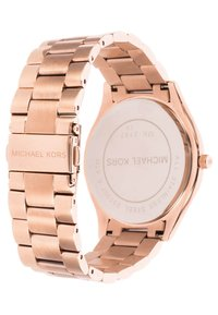 Michael Kors - SLIM RUNWAY - Hodinky - rosegold-coloured - 2
